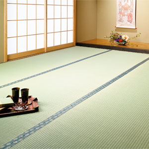 Japanese Tea Ceremony: Tatami mats
