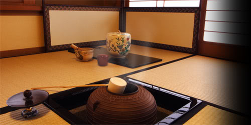 tea ceremony room with alcove